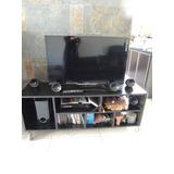Mueble Para Tv/audio Estilo Minimalista Con Ruedas