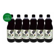 Combo Suco De Uva Orgânico 1l Vero Nuttri 6un