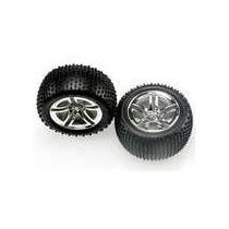 Traxxas 5572r Neumáticos Y Ruedas Traseras Encolada 2.8, Ja