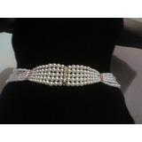 Cinturon En Perlas Diseño Español