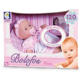 Boneca Bebê Bolofos Fala 120 Frases Da Cotiplás