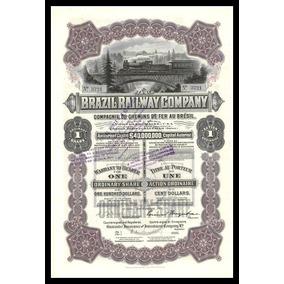 Ação - Brazil Railway Company # 02