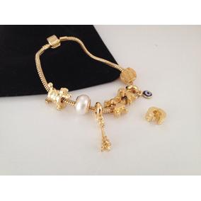 Monreale Bracelete De Ouro 18k Com Trava De Seguran A - Pulseiras e ... 8d033e3ab4