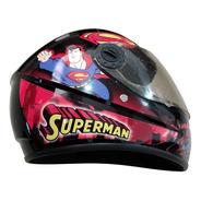 Casco De Moto Para Niño Superman