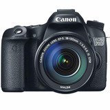 Camara Canon Eos 70d Lente 18-135 Stm