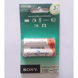 2 Pilhas Aa Recarregável Sony 4600 Mah Original