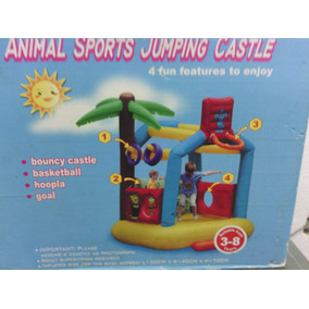 Castillo Inflable Animal Sports Jumping
