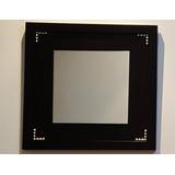 Quadro Decorativo Moderno De Mdf Com Espelho 45x45