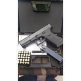Pistola De Fogueo Bruni Gap Glock 17 + 10 Municiones Tienda