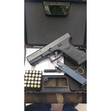 Pistola De Fogueo Bruni Gap Glock 17 + 10 Municiones
