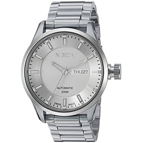 Nixon Mens Ii Swiss Stainless Steel Automatic Watch, Color:s