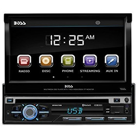 Auto Estéreo Boss Audio Bv9976b Single-din 7 Bluetooth Dvd