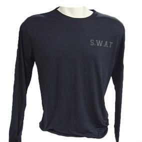 Camiseta Manga Longa Em Dry - Swat
