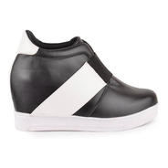 Zapatillas Con Plataforma De Mujer De Cuero Torio - Ferraro