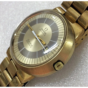 Omega Genève Dynamic + Box - Ouro Plaquet 20microns