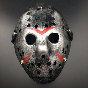 Mascara Jason Voorhees Sexta Feira 13 Prata