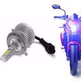 Kit Led Super Branca Farol Alto- Moto Honda Cb300r 2010a2015