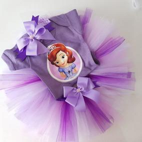 Tutu Conjunto Princesa Pañalero Con Tiara 0 A 18 M