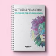 Matemática Para Nacional #pdt #2021 #anillado #ptu #ex-psu