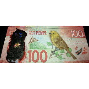Billete 100 Dolares Polímero Nueva Zelanda Unc