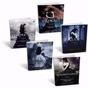 Coleção - Kit Série Fallen - 05 Volumes - Lauren Kate