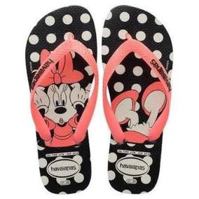 Chinelo Havaianas Disney Minnie -