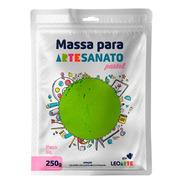 Massa Para Artesanato Lisa Verde Pastel
