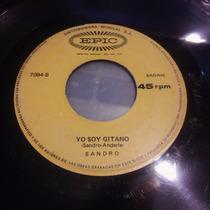 Disco Simple De Sandro Pobre Mi Madre Querida Raro Peru