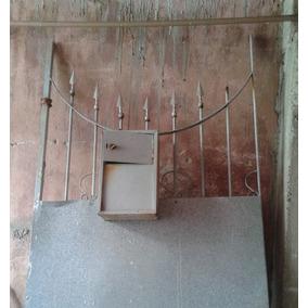 Portão De Ferro Usado - 2.50 X 0,97