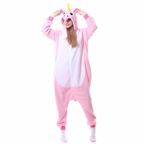 Pijama Mameluco Unicornio Rosa+ Envío Gratis/4 Tallas