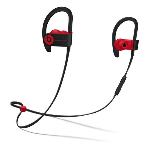 Fone de ouvido sem fio Beats Powerbeats³ black e red