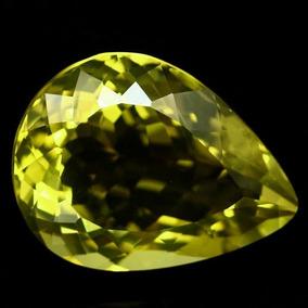 Quartzo Green Gold Natural De 24.02 Cts(23.2x17.6mm)