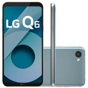 Celular Smartphone Lg Q6 Platinum - Tv Digital, Dual Chip