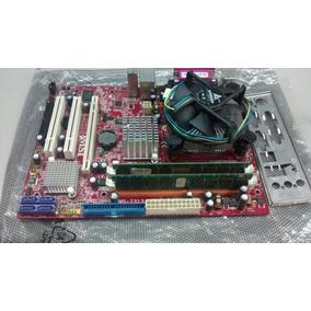Kit Placa Mãe 775 Msi 945gcm7 V2 Ddr-2 Core 2 6600 De 2g