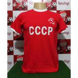 Camisa União Soviética Cccp Década De 70