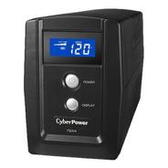 No-break Cyberpower Om750atlcd, 750 Va, 8 H, Negro