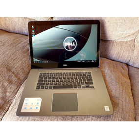 Notebook Dell 4k Touch Screen Core I7 5ºger 8gb 300gb Ssd