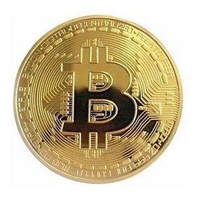 Moeda Física Bitcoin - Edição Comemorativa Colecionador