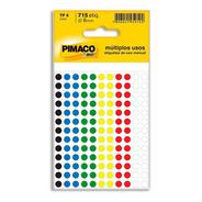 Etiqueta Adesiva P/ Codificação 6mm Coloridas Pt 715 Un
