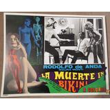 Rodolfo De Anda En: La Muerte En Bikini, Bonito Lobby Card