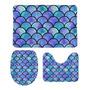 Blue mermaid scales
