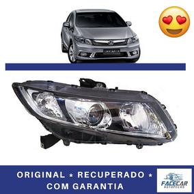 Farol New Civic 2012 2013 2014 Lado Direito Original Honda