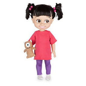Boneca Boo Coleção Disney Animators Monstros Sa Original Dis