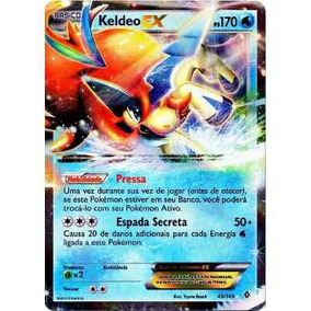 Pokemon Keldeo Ex Fronteiras Cruzadas Card Carta