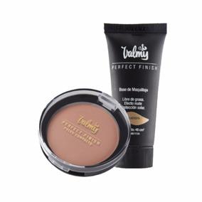Base De Maquillaje + Polvo Compacto Valmy