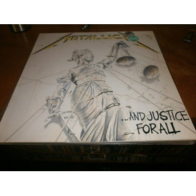 Metallica And Justice For All 2lp Original Europa