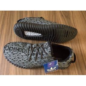 Tênis adidas Yeezy Boost 350 Preto Frete Grátis Caixa