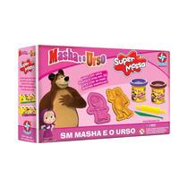 Brinquedos Menina Massinha De Modelar Masha E O Urso Estrela