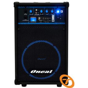 Caixa Amplificada Oneal Ocm290 Usb/fm/smd 50w Frete Grátis