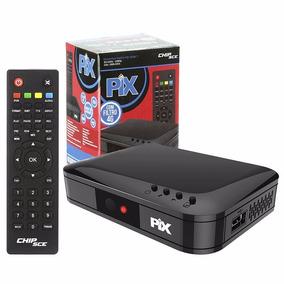 Conversor Receptor Tv Digital * Hdtv Novo Padrão 4g Pix